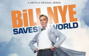 Cover of Bill Nye Saves the World video