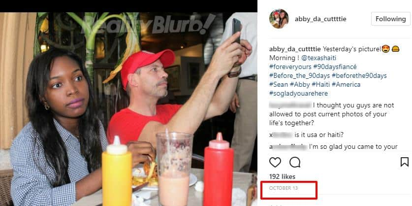 abby before the 90 days instagram