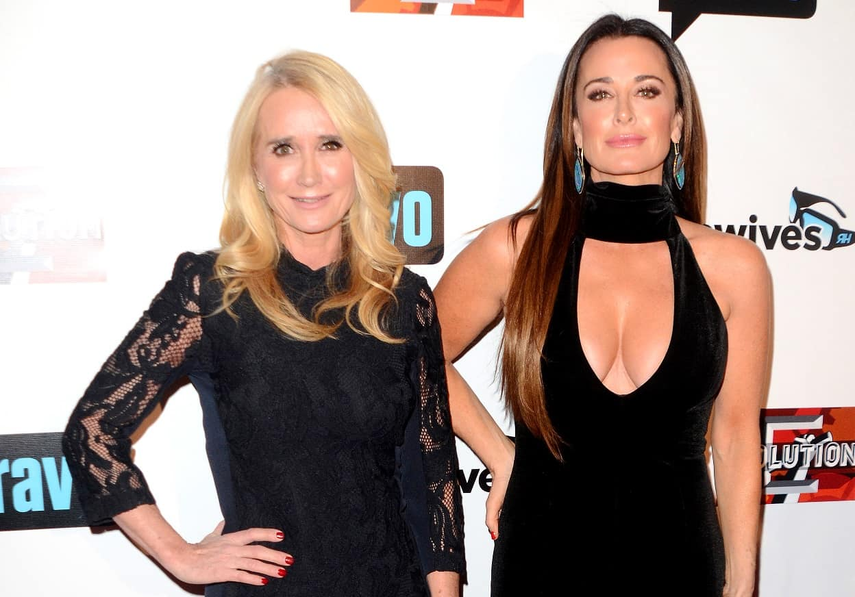 rhobh kim richards and kyle richards