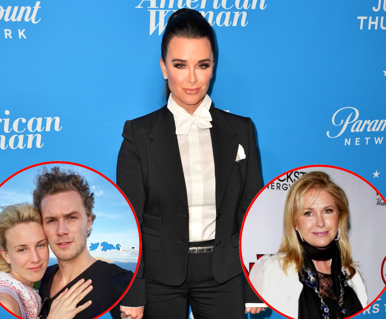 RHOBH Kyle Richards Misses Barron Hilton Wedding Amid Kathy Hilton Feud