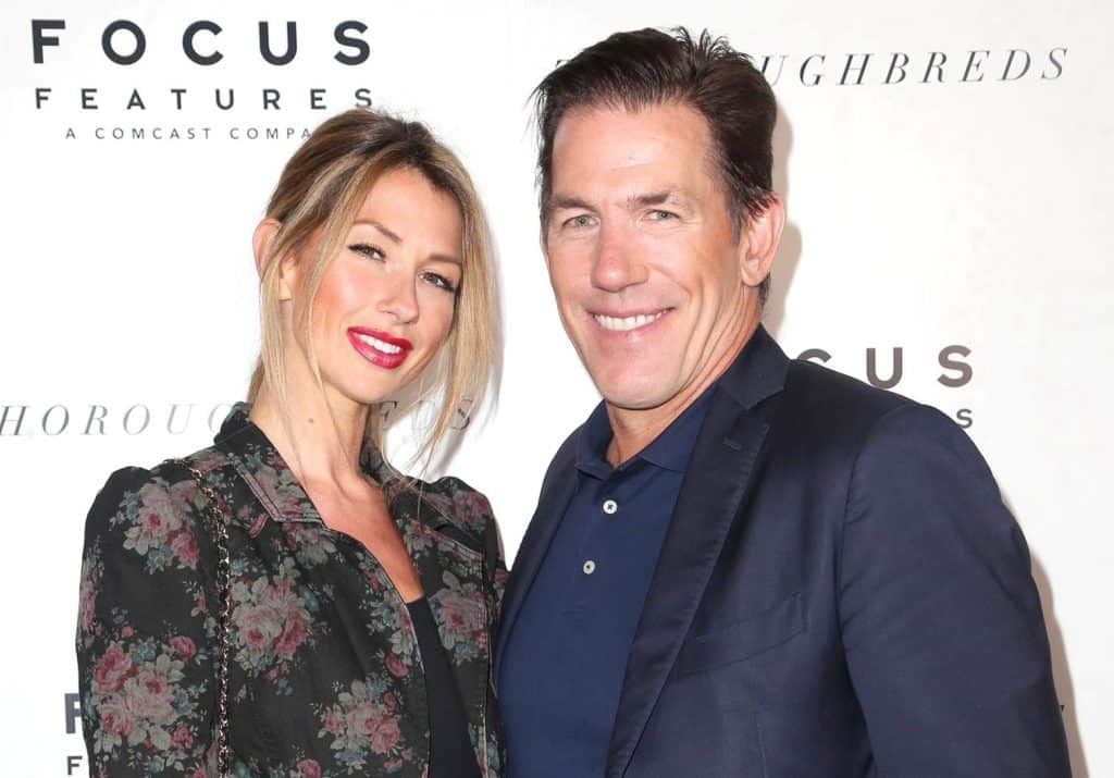 Ashley Jacobs photographed filming with Southern Charm Cast
