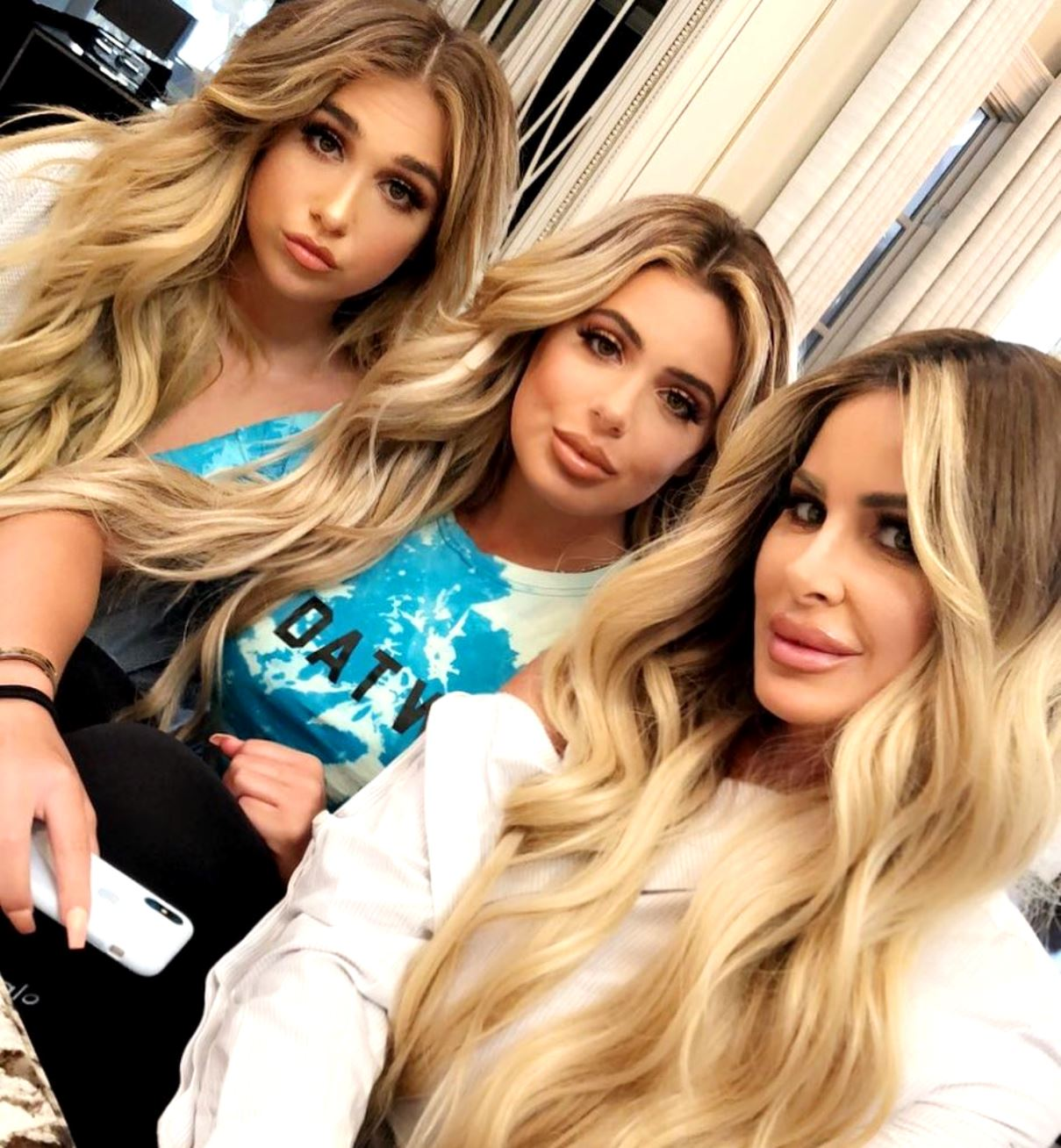 Kim Zolciak Starts Makeup Line KAB Comestics With Ariana and Brielle Biermann