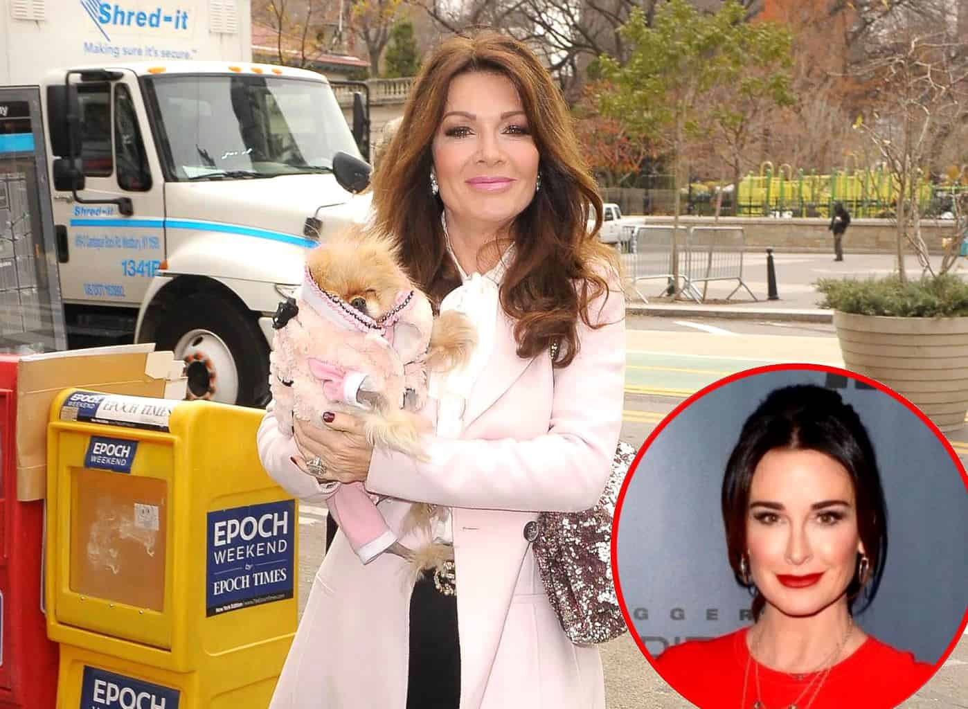Lisa Vanderpump Shares Fan Message Encouraging Bravo to Fire 'RHOBH' Cast and Kyle Richards Responds!