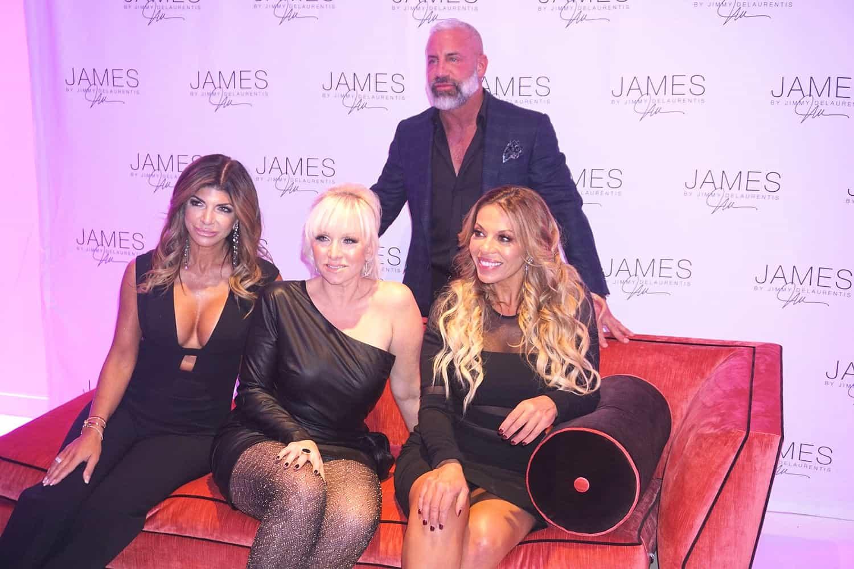 Teresa Giudice Margaret Josephs Dolores Catania JAMES by Jimmy DeLaurentis Launch