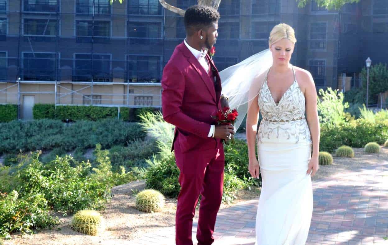 90 Day Fiance Jay and Ashley Wedding Photo