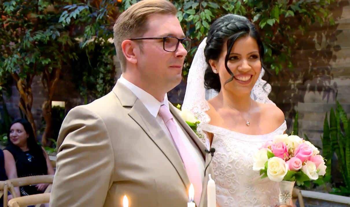 90 Day Fiance Make It or Break It Colt and Larissa Wedding