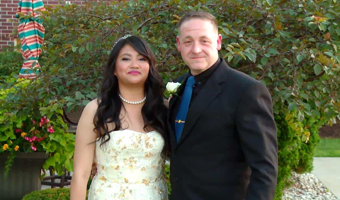 90 Day Fiance Make It or Break It Eric and Leida Wedding