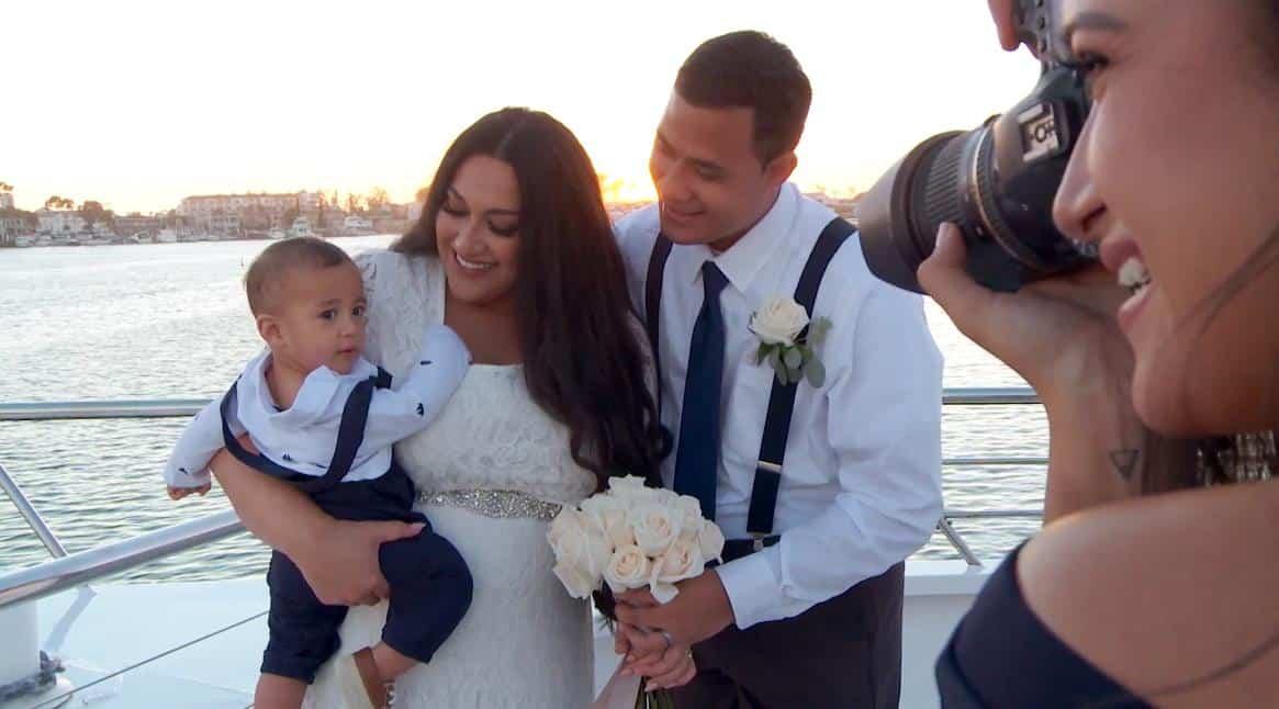 90 Day Fiance Kalani and Asuelo Wedding Oliver