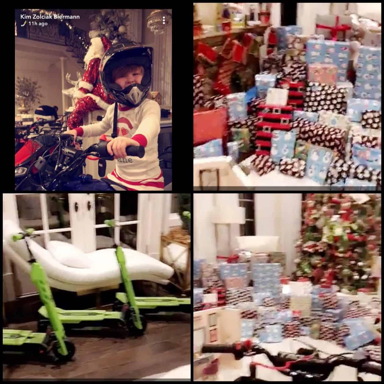Kim Zolciak children gifts photos