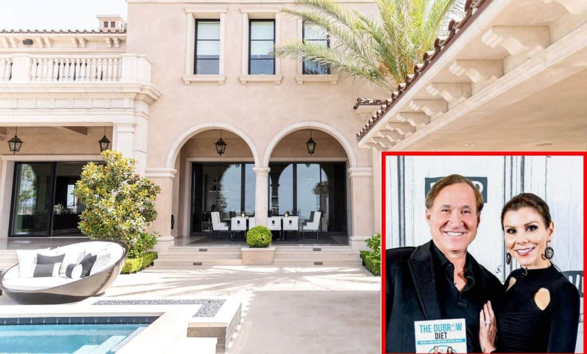 RHOBH Dr Terry Dubrow and Heather Dubrow New Home Pictures