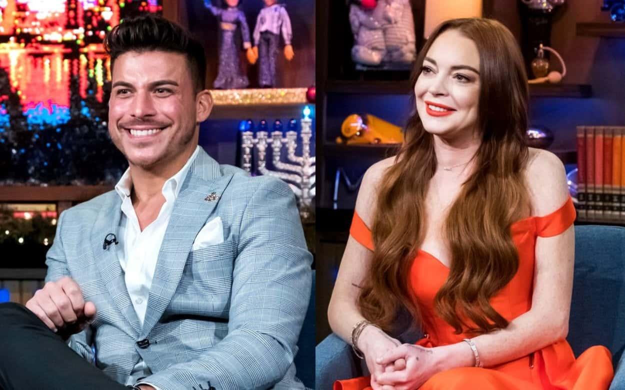 Vanderpump Rules' Jax Taylor Fires Back at Lindsay Lohan for Denying Hookup