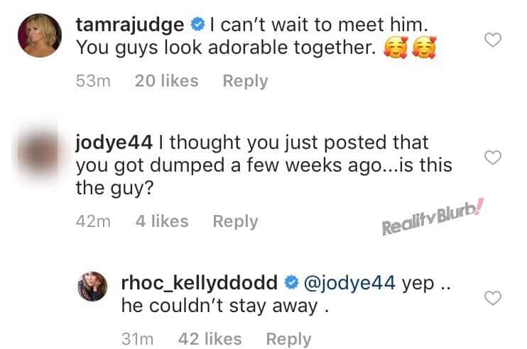Kelly Dodd says she's back together with boyfriend