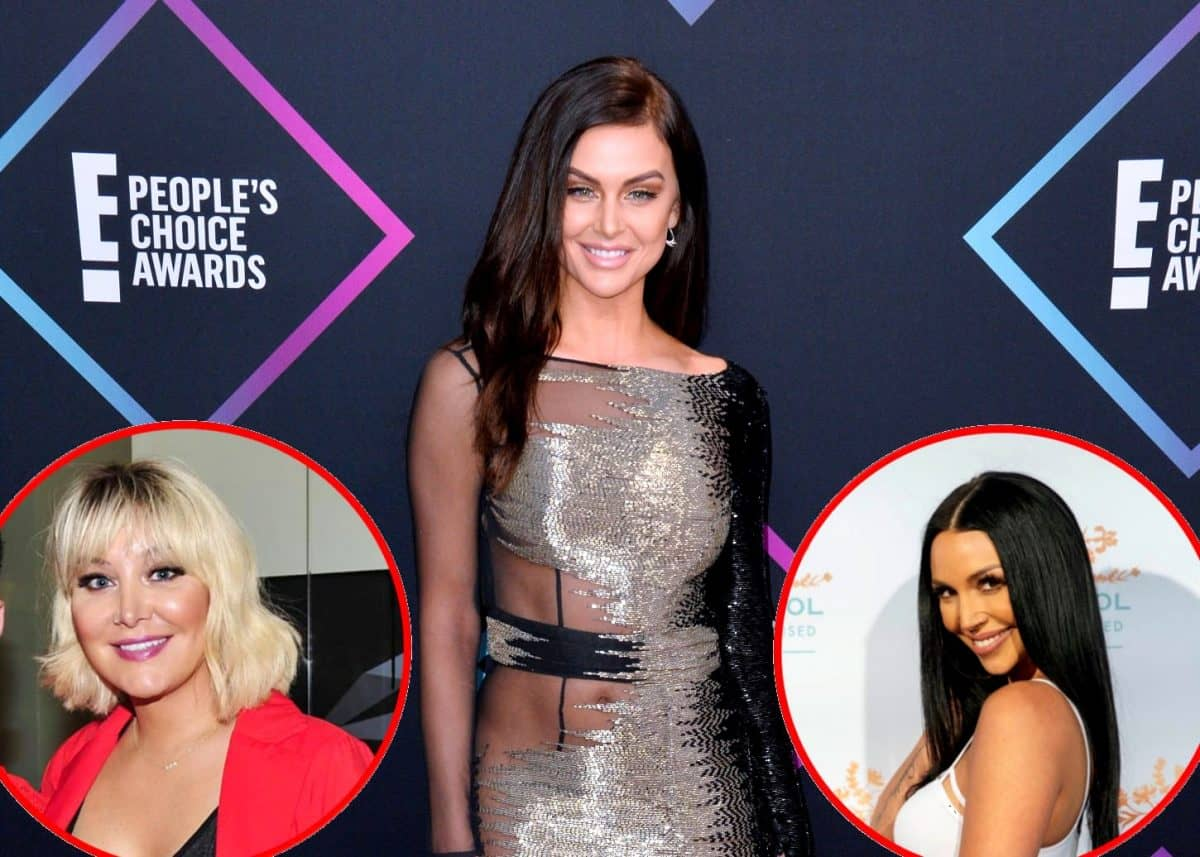 "Vanderpump Rules' Lala Kent Slams ""Strange"" Billie Lee, Talks Relationship With Scheana"