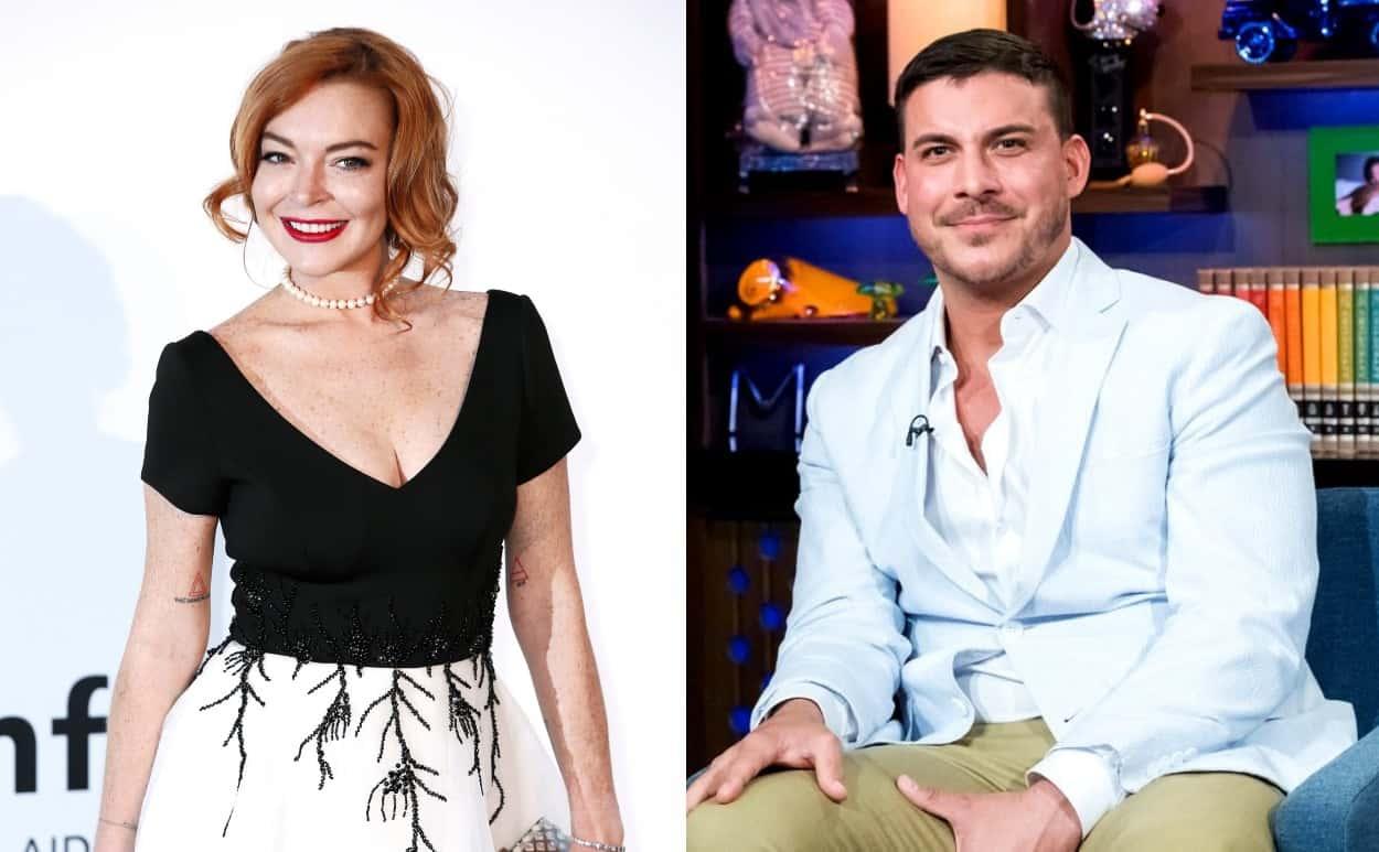 Lindsay Lohan Slams Vanderpump Rules Star Jax Taylor as a Liar