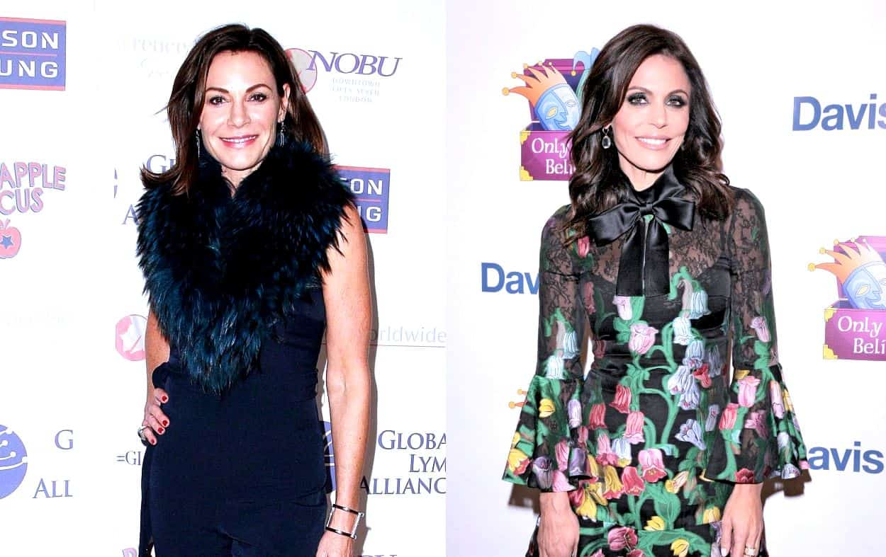 LuAnn de Lesseps Fights with Bethenny 'A Lot' on New RHONY Season