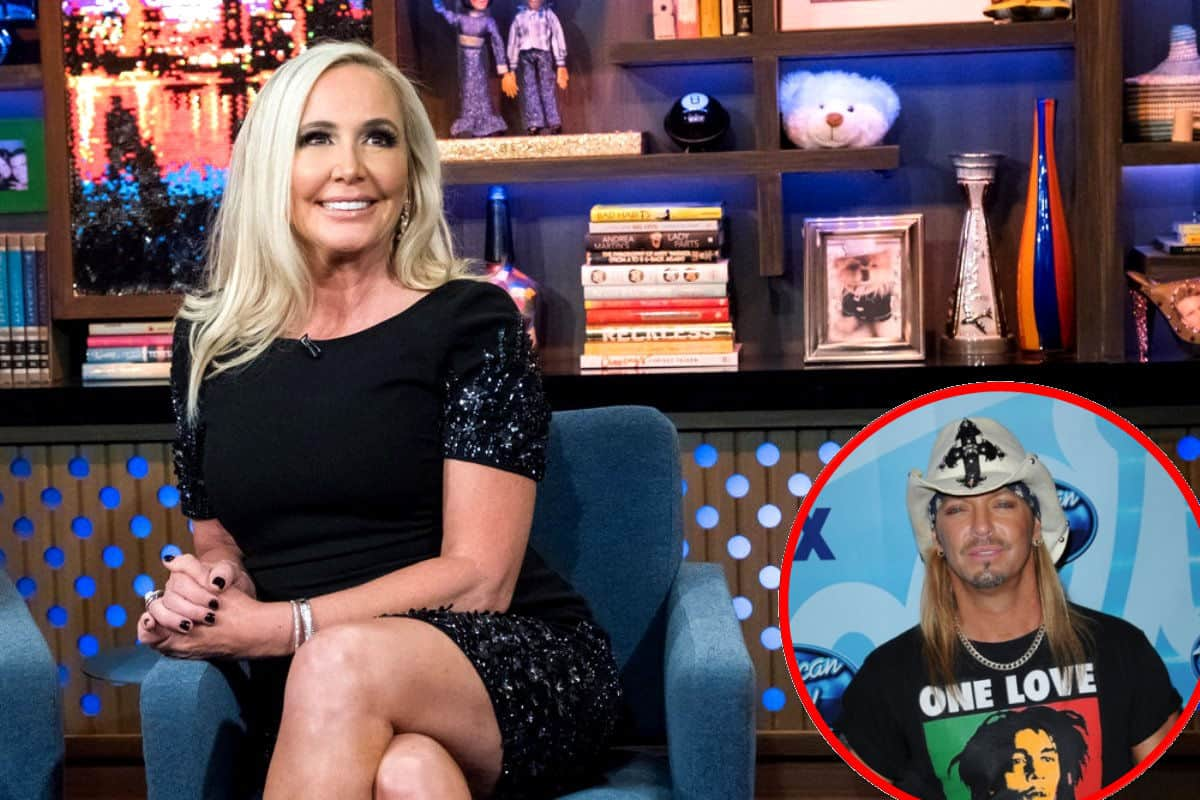 RHOC Shannon Beador shows off weight loss and meets Bret Michaels
