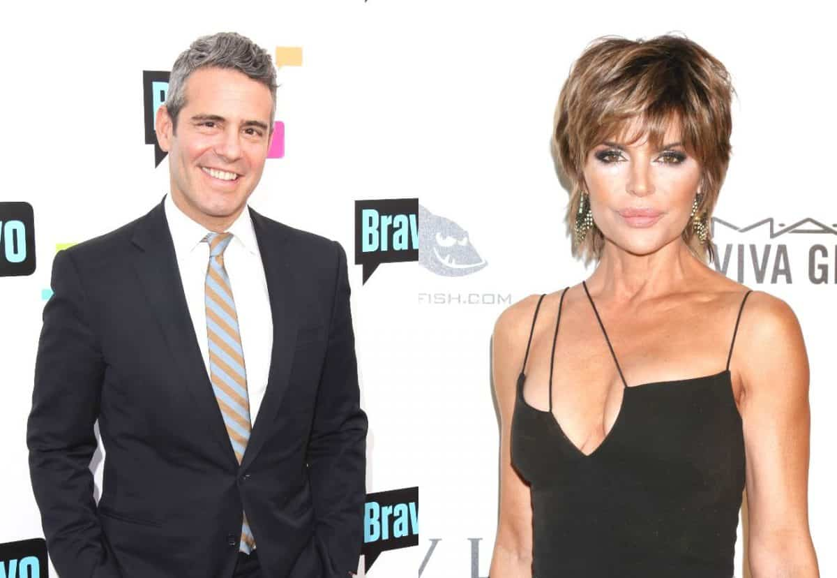 Andy Cohen Reveals Why He Turned Down Lisa Rinna For RHOBH Season 1