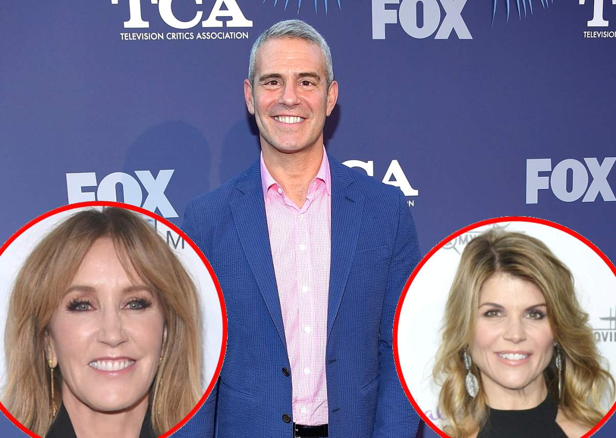 Lori Loughlin And Felicity Huffman Are Given Hilarious Real Housewives Taglines After College Cheating Scandal, Andy Cohen Responds