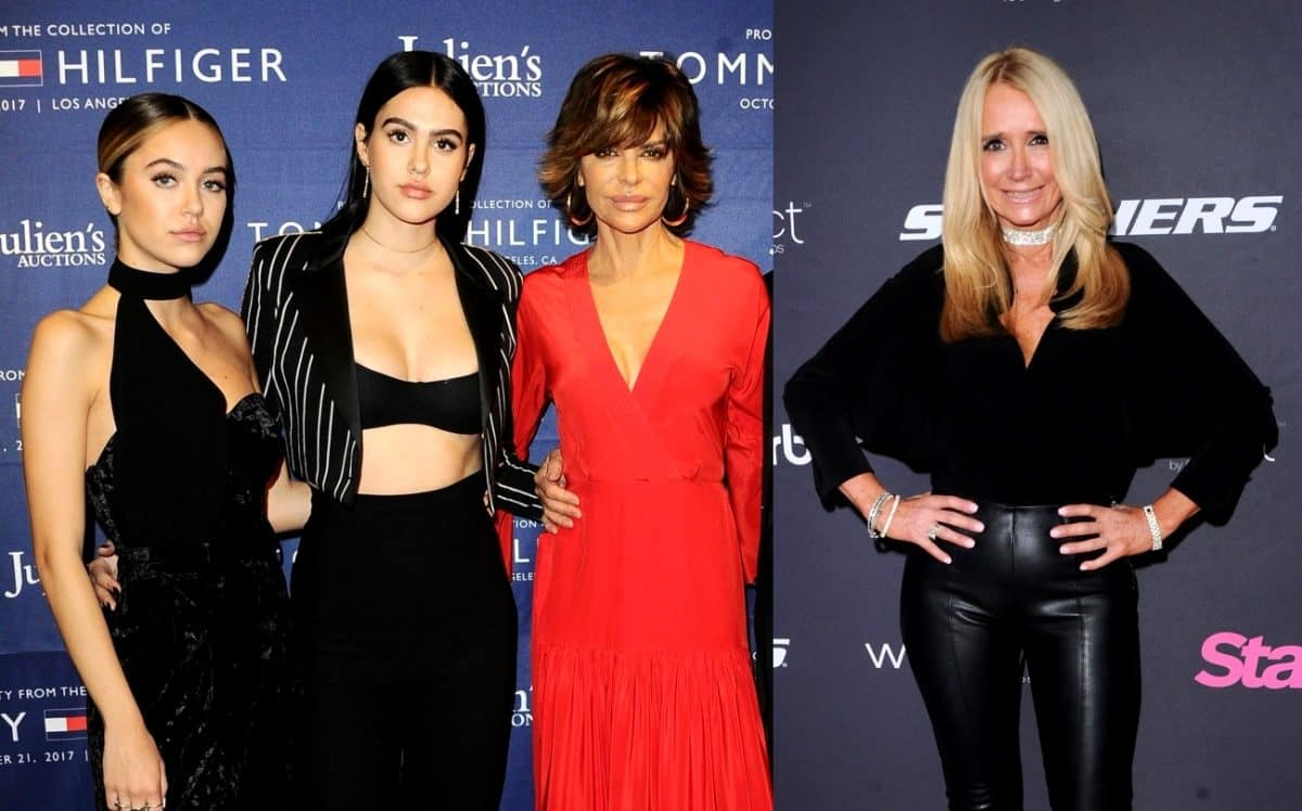 Find Out Why RHOBH's Lisa Rinna Could End Up Becoming Sisters-In-Law with Kim Richards! Plus Lisa Teases Daughters' Reality Show