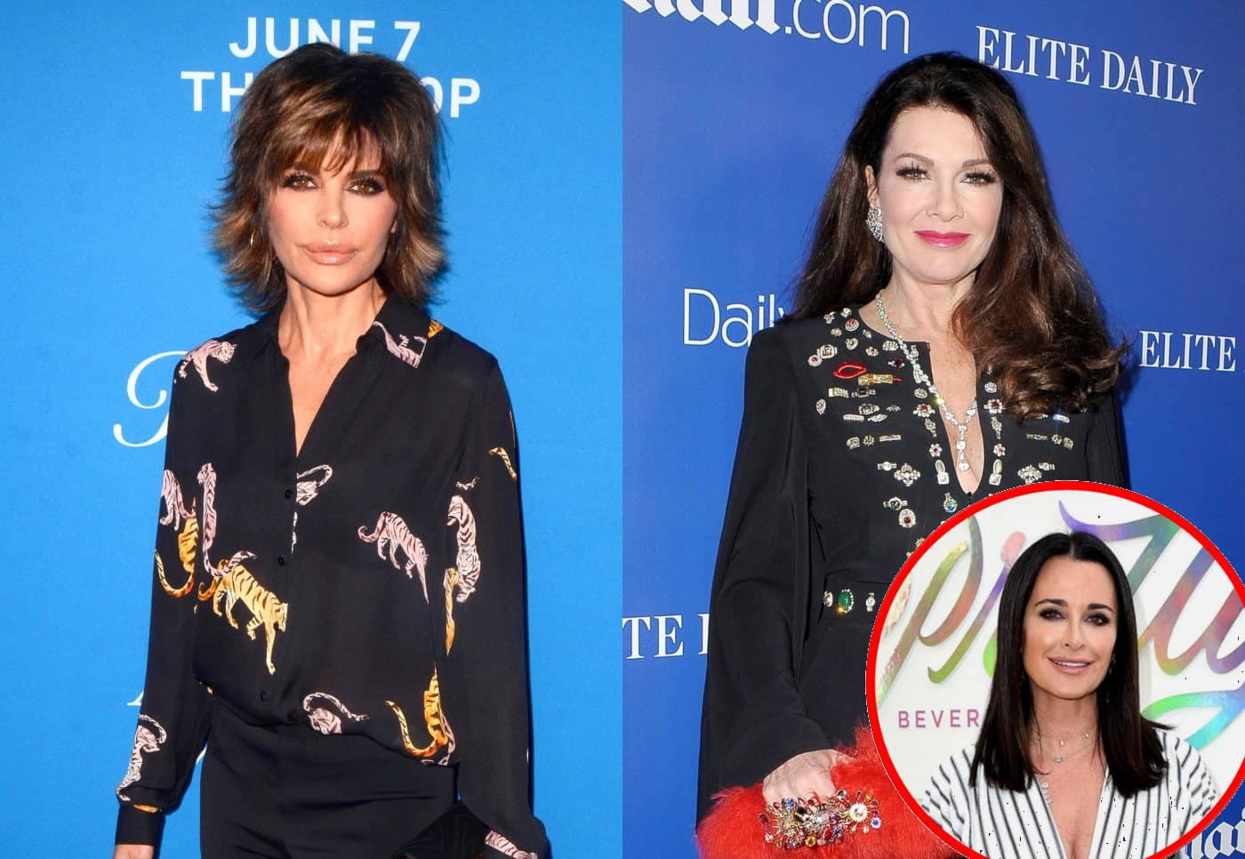 RHOBH's Lisa Rinna Backtracks on Threat to Sue Lisa Vanderpump as Kyle Richards Reveals Why She Kept Bringing Up Puppy Gate