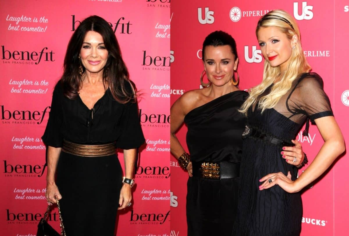 UPDATE: Lisa Vanderpump Opens Up About Plastic Surgery, Plus Is Paris Hilton Interested in Joining the RHOBH?
