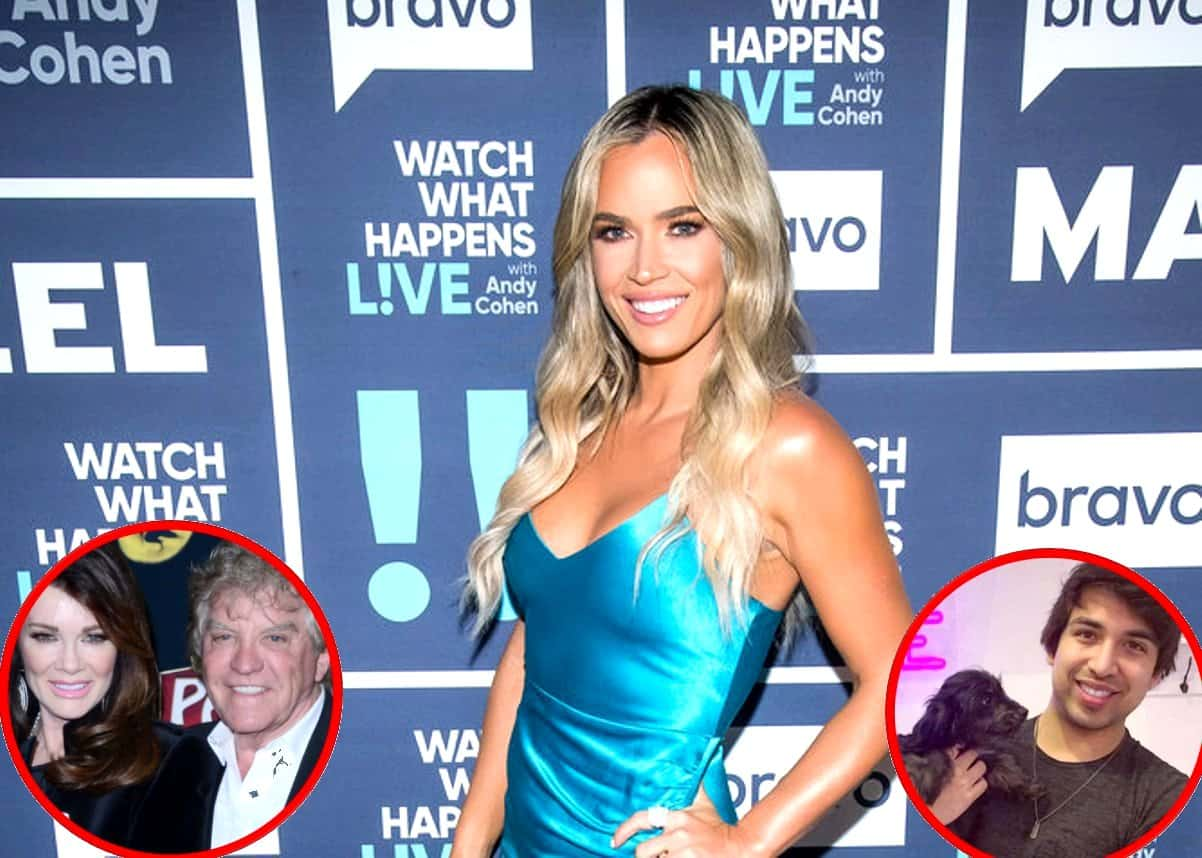RHOBH's Teddi Mellencamp Shares Text Messages Sent Between Her And John Blizzard, Accuses Lisa and Ken of Involving Her in Scheme to Expose Dorit Dog Story