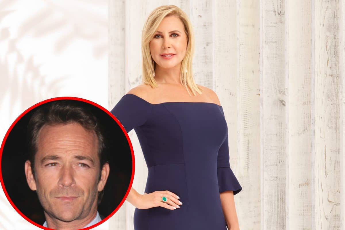 RHOC's Vicki Gunvalson Feels 'Attacked For No Reason' After Using Luke Perry's Death To Promote Her Insurance Company