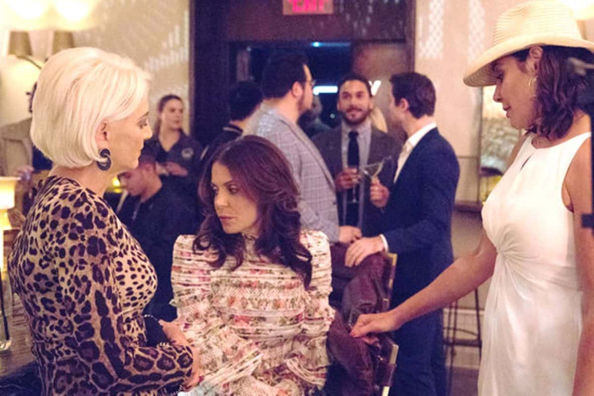 The Real Housewives of New York Recap: Clams, Confrontations, and Paper