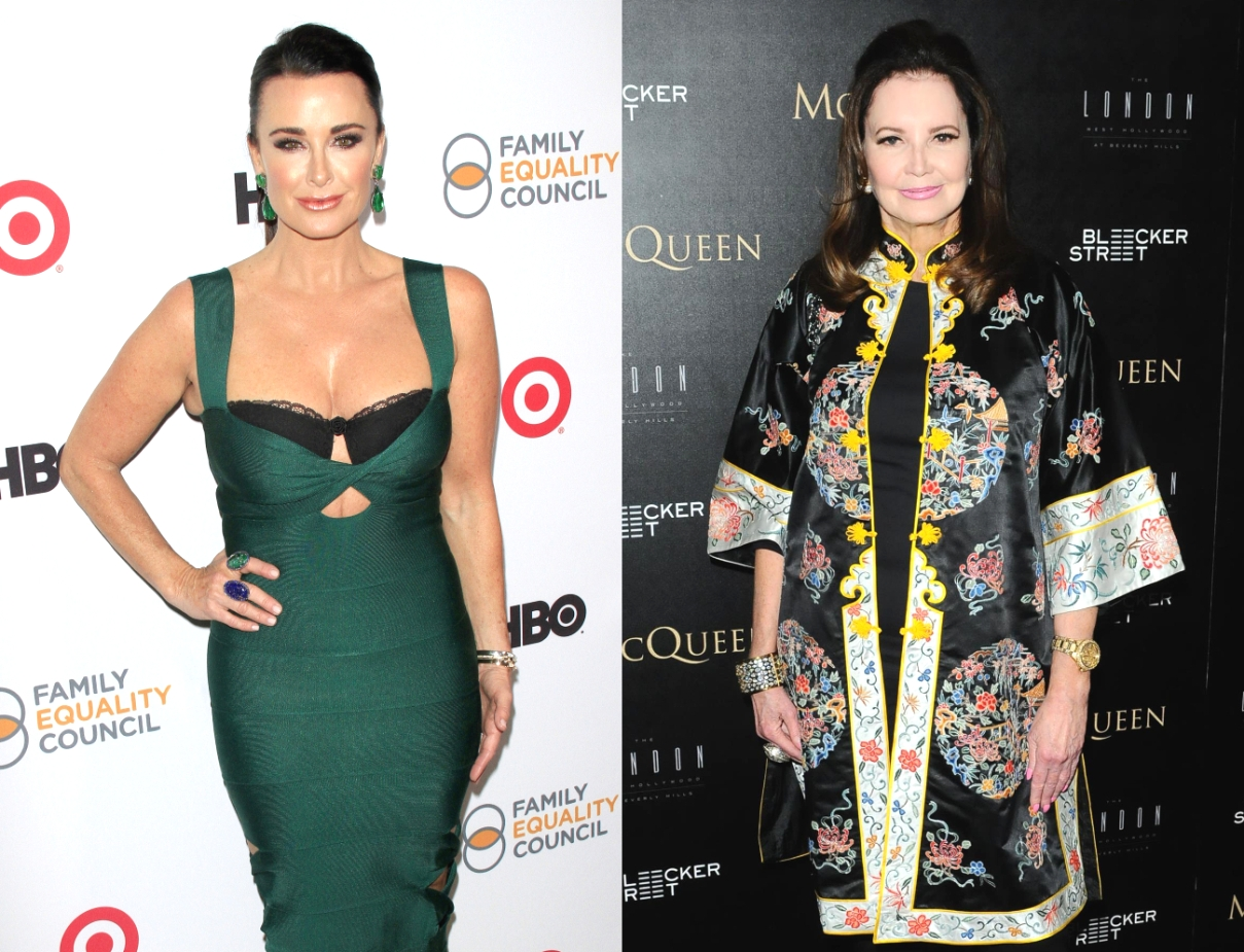 RHOBH's Kyle Richards Debuts Real Housewives-Themed Birkin Bag, Plus Southern Charm's Patricia Altschul Slams Dorit Kemsley Over Doggy Drama
