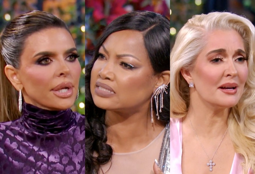 RHOBH Reunion Recap: Garcelle accuses Lisa of giving 'Race' comments when Dorit yells at Garcelle and Erika reacts to fans who want her fired, plus was she faithful to Tom?