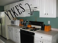 How to PAINT a backsplash to look like tile!
