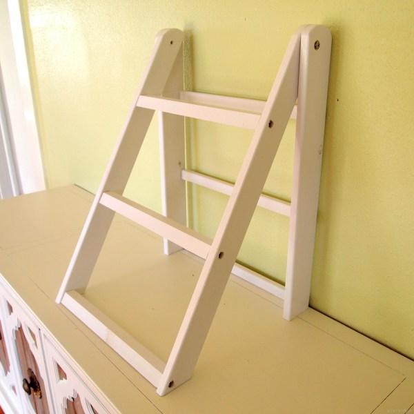 Mini Ladder Shelf