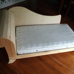 Toddler Chair Bed Covers And Table Cloth Hire Fainting Couch Diy Tutorial