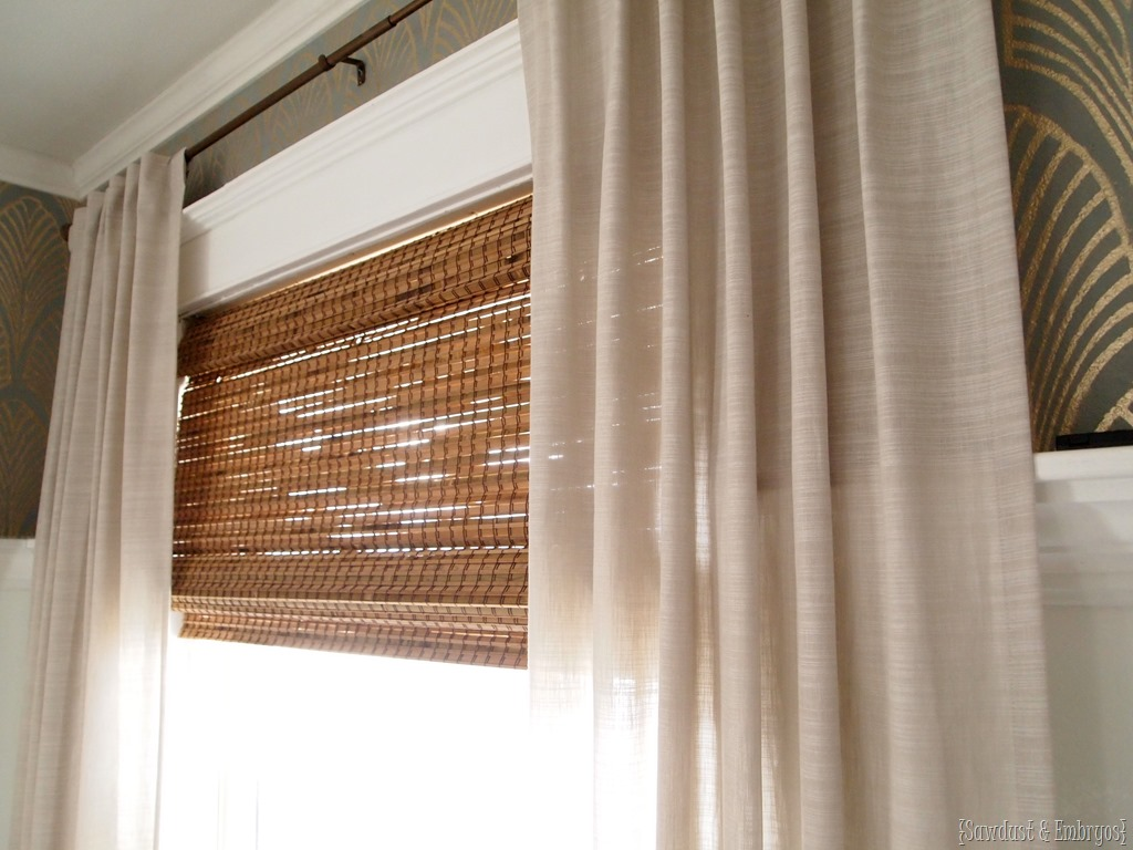 custom fit bamboo shades for any window