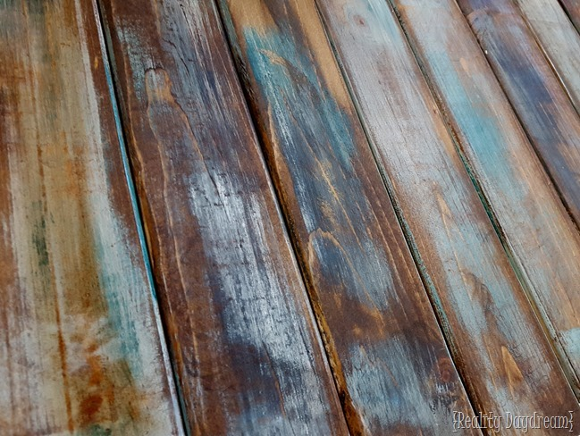 how to make distressed wood barn boards