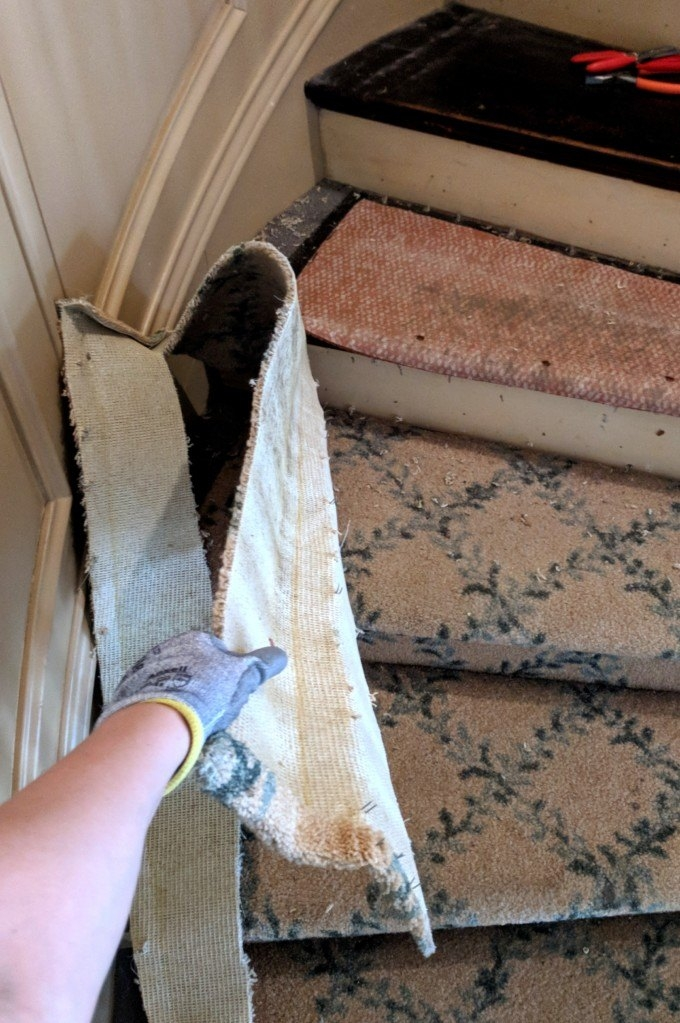 How To Remove Stair Carpet Tips And Tricks Reality Daydream | Running Carpet For Stairs | Carpet Runners | Laminate Flooring | Runner | Hallway | Grey