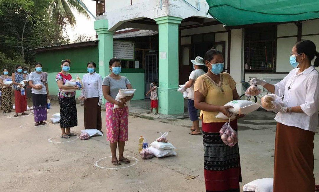 Myanmar's Civil Society Takes the Lead in Combating Covid-19