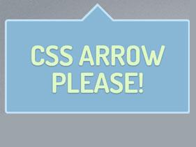 CSS arrow image