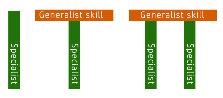Different skillset shapes