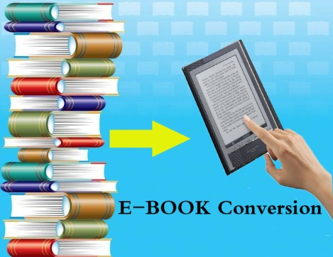 eBook Conversion Servies