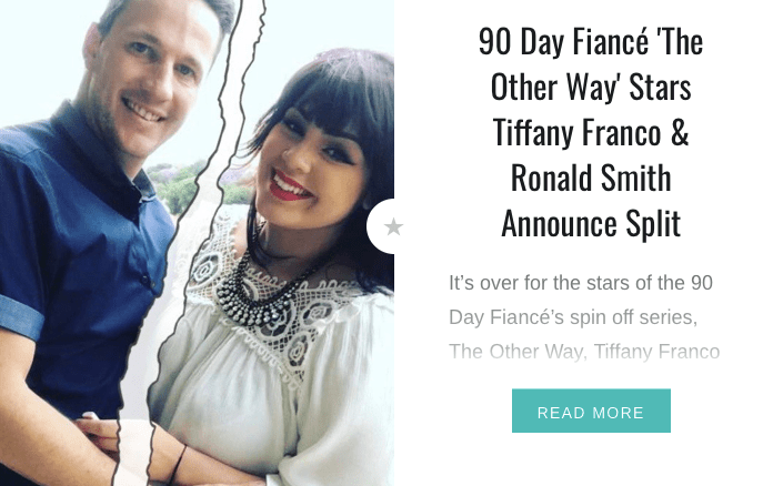 90 Day Fiancé Tiffany and Ronald