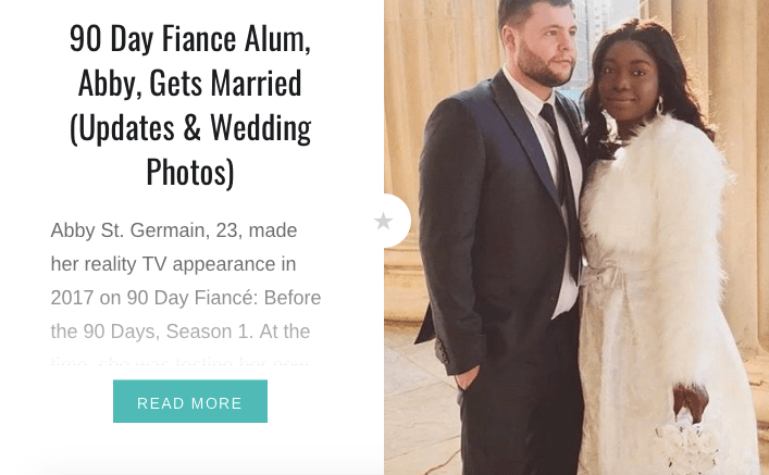 90 Day Fiancé Alum, Abby, Gets Married (Updates & Wedding Photos)