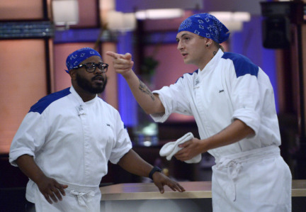 Hell Kitchen 2013 Preview Episode Culinary Relay Race