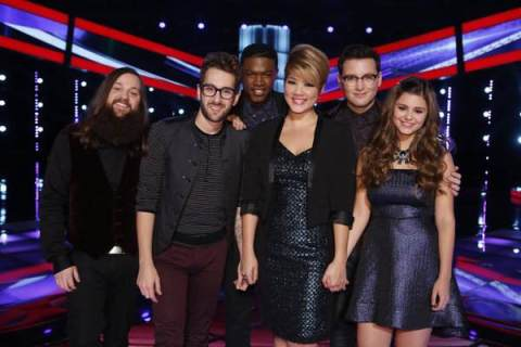 The Voice 2013 Season 5 Spoilers - Top 6