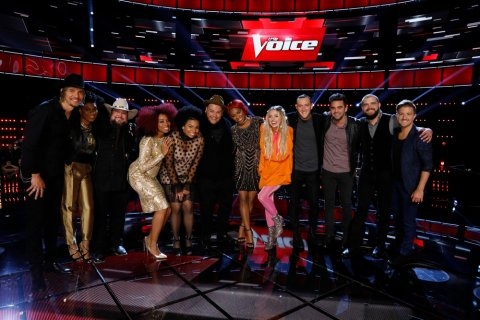 The Voice USA 2016 Spoilers - Voice Top 12