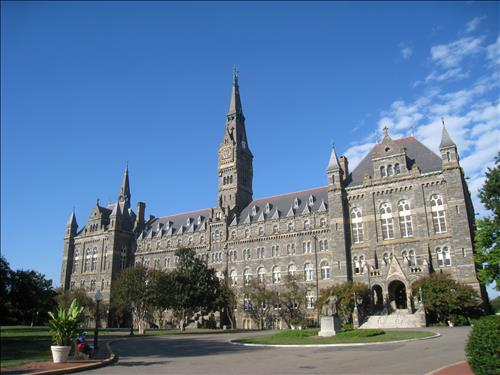 Georgetown University Healy Hall
