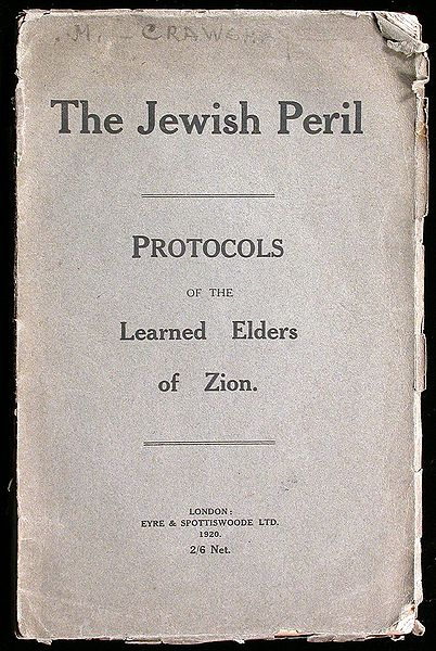 The Jewish Peril - Eyre and Spottiswoode LTD. - 1st Edition