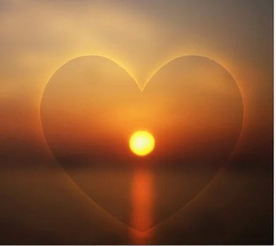 Image result for sun heart