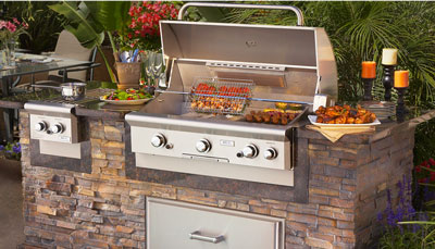outdoor kitchen griddle floating shelves 5 modern barbecue grill designs - reality sandwich