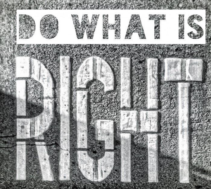Do What Is Right SEO